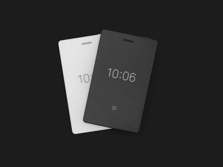 The Light Phone 2 also has an alarm clock, a larger speaker, a microphone and physical buttons.