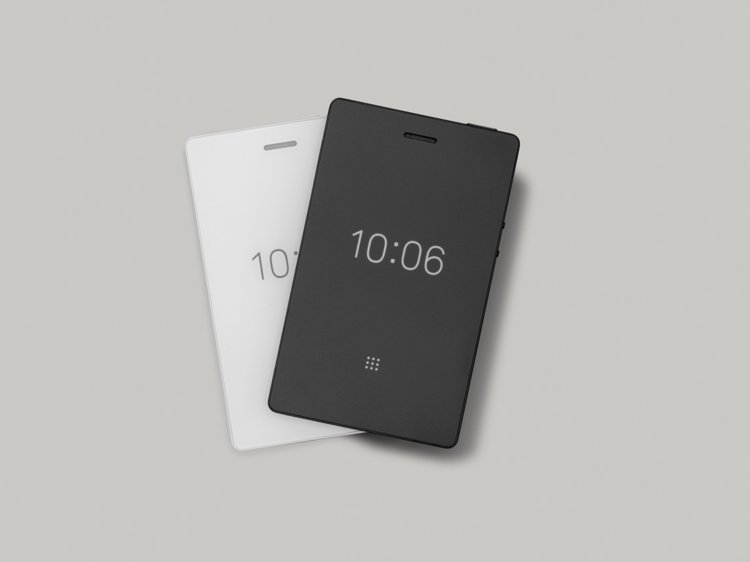 The Light Phone 2 has an E-Ink display and comes in black or white.