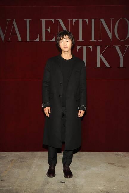 Song Joong-ki, Valentino Pre-Fall 2019 Show, Tokyo
