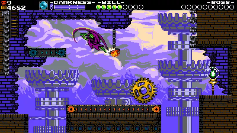 Shovel Knight: Treasure Trove - conveyor belt