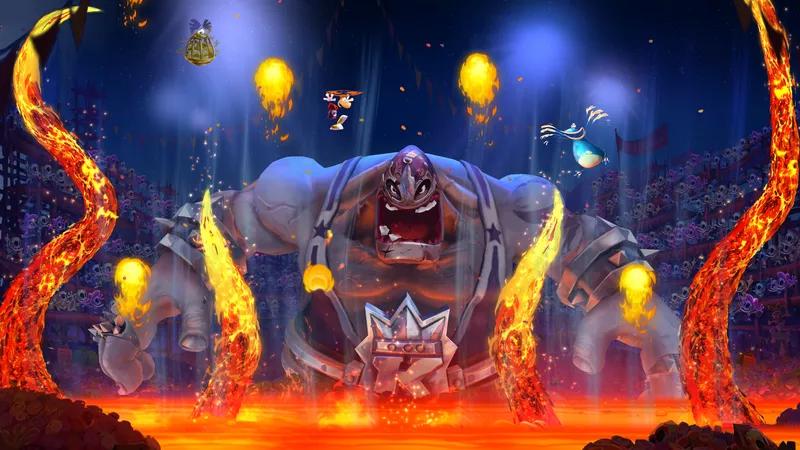 Rayman Legends - fiesta boss